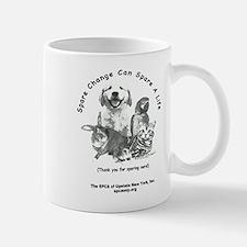 """SPCA """"Spare Change"""" Mug"""
