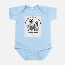 "SPCA ""Spare Change"" Infant Bodysuit"