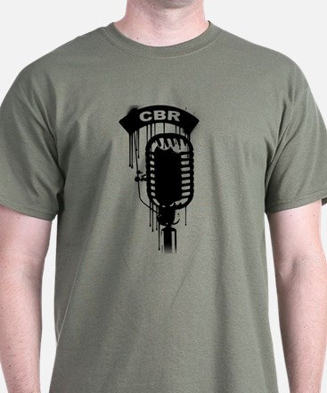 graffiti mic zoomed T-Shirt
