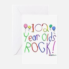 102 Year Olds Rock ! Greeting Cards (Pk of 20)