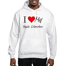 I Heart My Music Director Hoodie