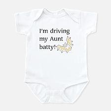 driving my Aunt batty Infant Bodysuit