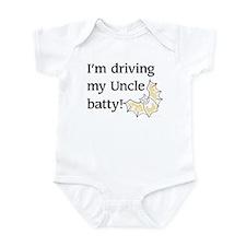 driving my uncle batty Infant Bodysuit