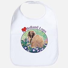 I heart Holland Lops Bib