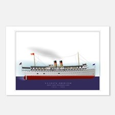S.S. South American Postcards (Package of 8)