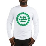My Aunt is My Lucky Charm Long Sleeve T-Shirt