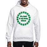 My Aunt is My Lucky Charm Hooded Sweatshirt