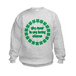 My Aunt is My Lucky Charm Kids Sweatshirt