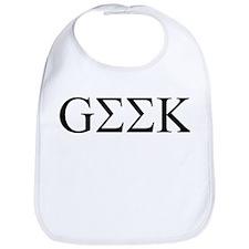 Greek Geek Bib