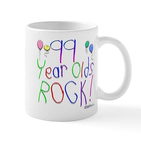99 Year Olds Rock ! Mug