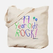 99 Year Olds Rock ! Tote Bag