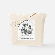 "SPCA ""Spare Change"" Tote Bag"