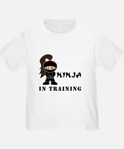 Brunette Ninja In Training T