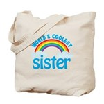 world's coolest sister Tote Bag