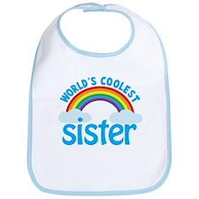 world's coolest sister Bib