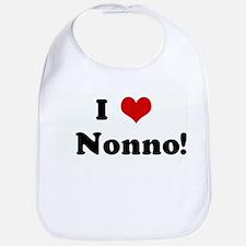 I Love   Nonno! Bib