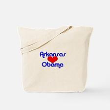 Arkansas For Obama Tote Bag