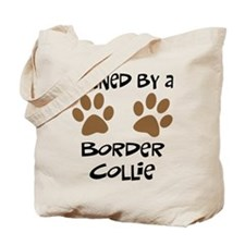 Owned By A Border Collie Tote Bag