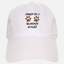 Owned By A Border Collie Baseball Baseball Cap