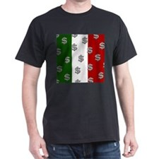 Dollar Sign Pattern Mexican & T-Shirt