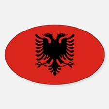 Albania Oval Decal