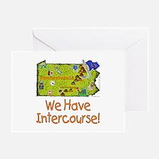 PA-Intercourse! Greeting Card