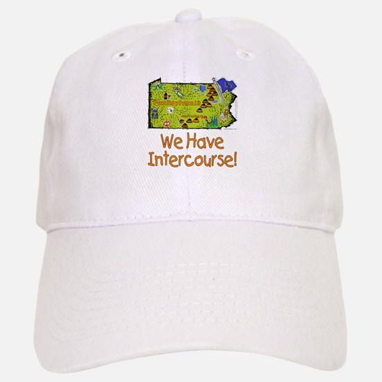 PA-Intercourse! Baseball Baseball Cap