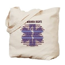 EMS Miranda Rights Gifts Tote Bag