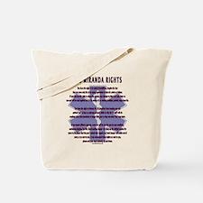 EMS Miranda Rights Gifts Tote Bag