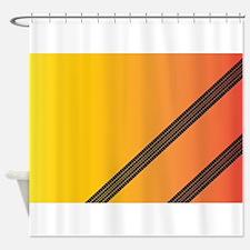 Treadmarks Shower Curtain
