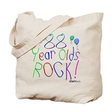 88 Year Olds Rock ! Tote Bag