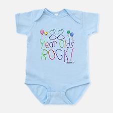 88 Year Olds Rock ! Infant Bodysuit