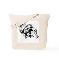 Cute Drag bike Tote Bag