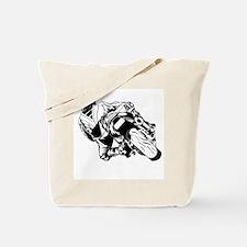 Cute Sportbike Tote Bag