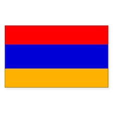Armenia Rectangle Decal