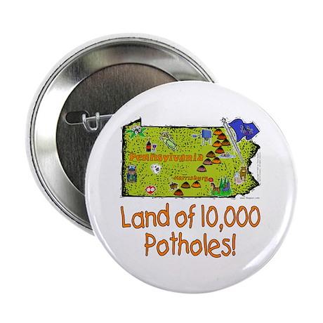 """PA-Potholes! 2.25"""" Button (10 pack)"""
