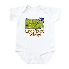PA-Potholes! Infant Bodysuit