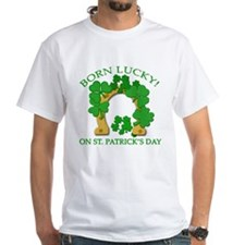 Born Lucky on St. Pats Day Shirt