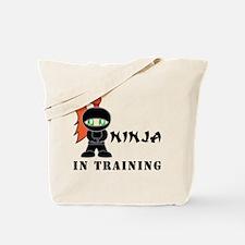 Redhead Ninja In Training Tote Bag