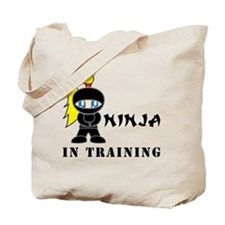 Blonde Ninja In Training Tote Bag