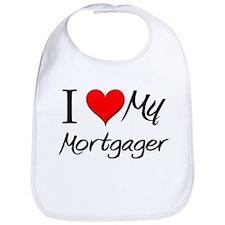 I Heart My Mortgager Bib