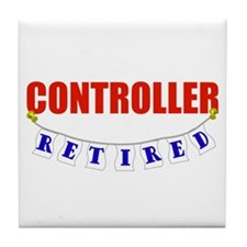 Retired Controller Tile Coaster