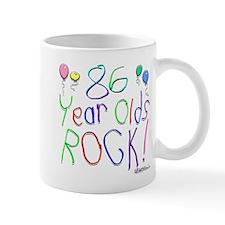 86 Year Olds Rock ! Mug