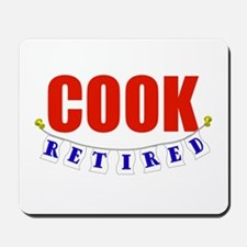 Retired Cook Mousepad