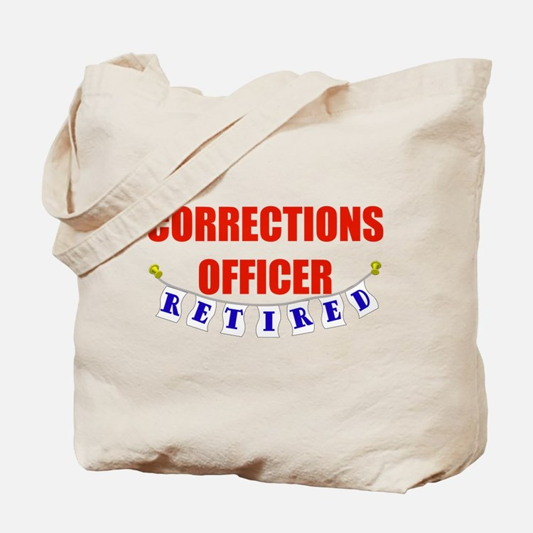 Retired Corrections Officer Tote Bag