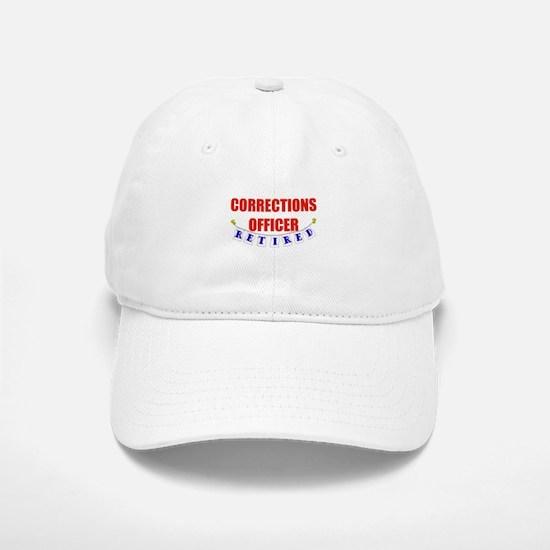 Retired Corrections Officer Baseball Baseball Cap