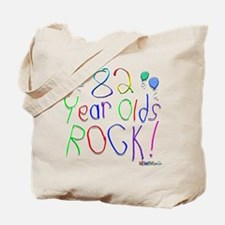 82 Year Olds Rock ! Tote Bag