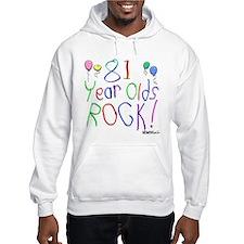 81 Year Olds Rock ! Hoodie
