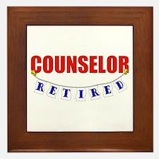 Retired Counselor Framed Tile