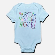 80 Year Olds Rock ! Infant Bodysuit